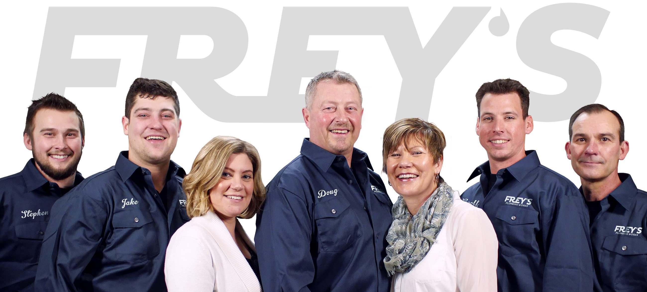 Frey's Water Softener Team