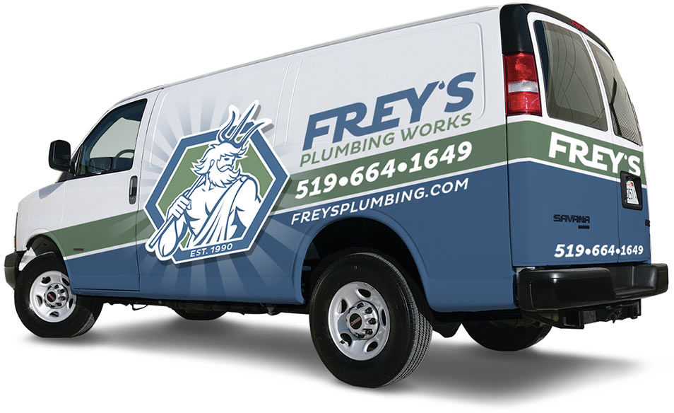 Guelph Plumber Van with Vehicle Graphics