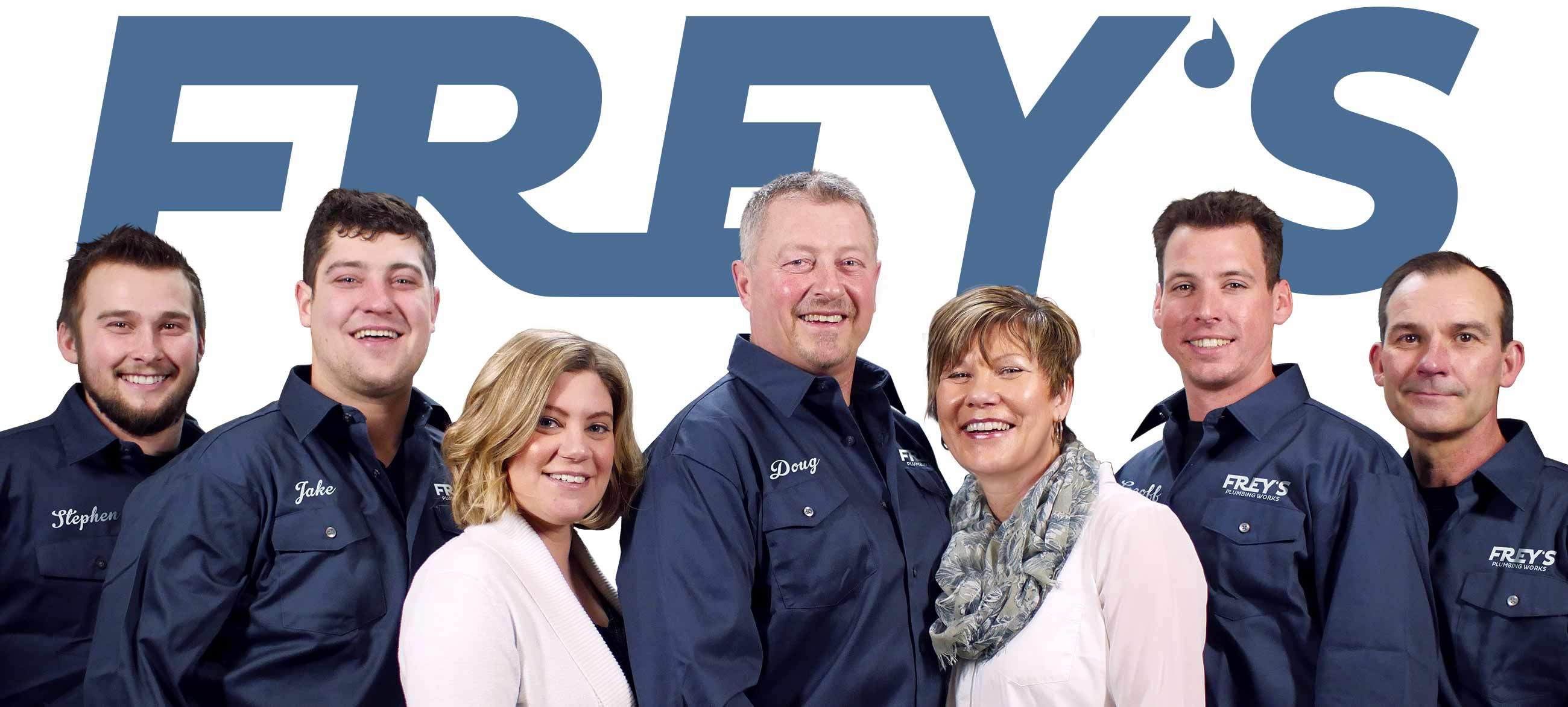 Frey's Team of Guelph Plumbers Photo